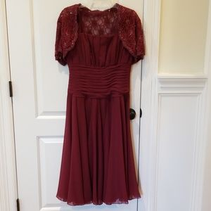 Offers? Jade by Jasmine Formal with Beaded Shrug